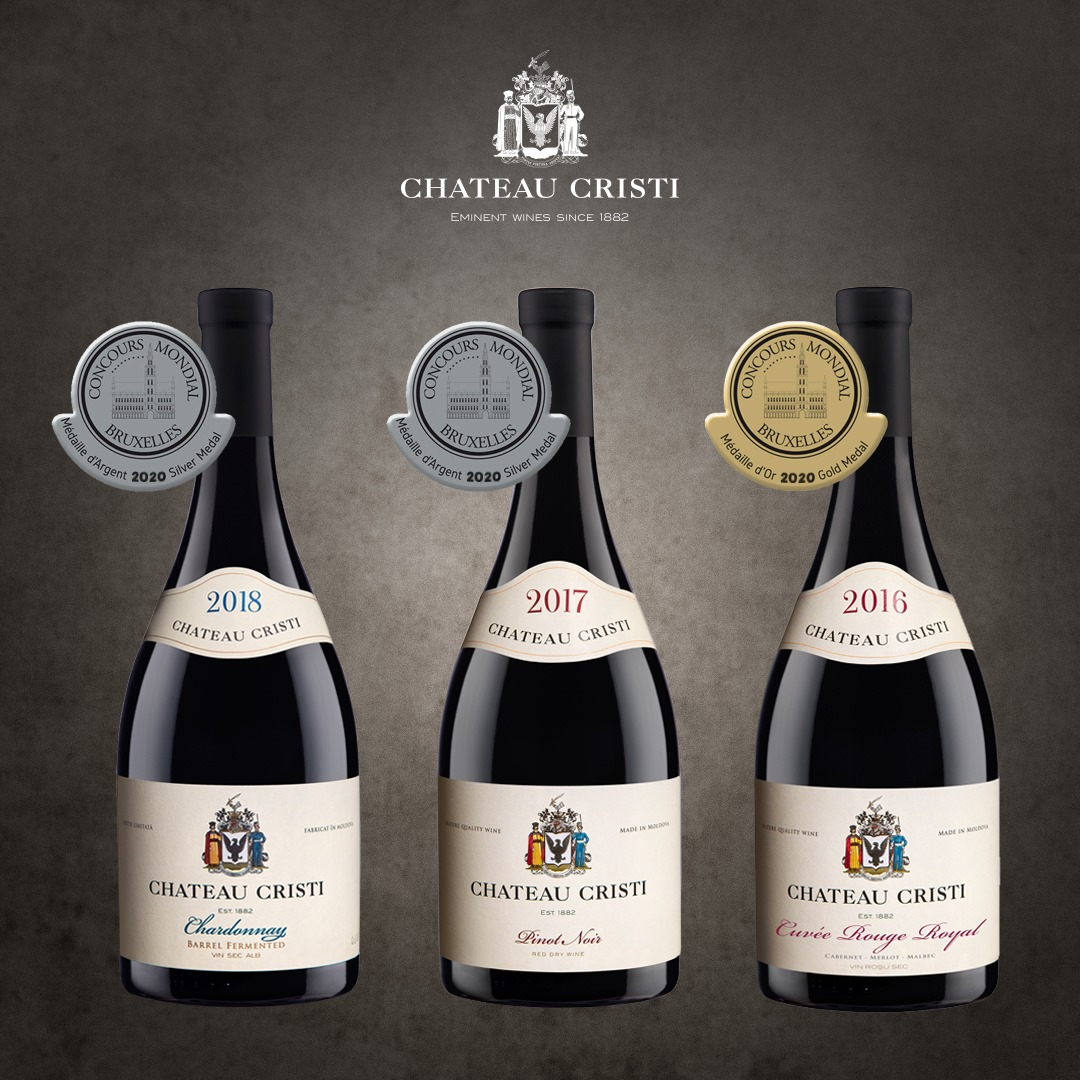 2020 – the year full of medals for the Chateau Cristi winery